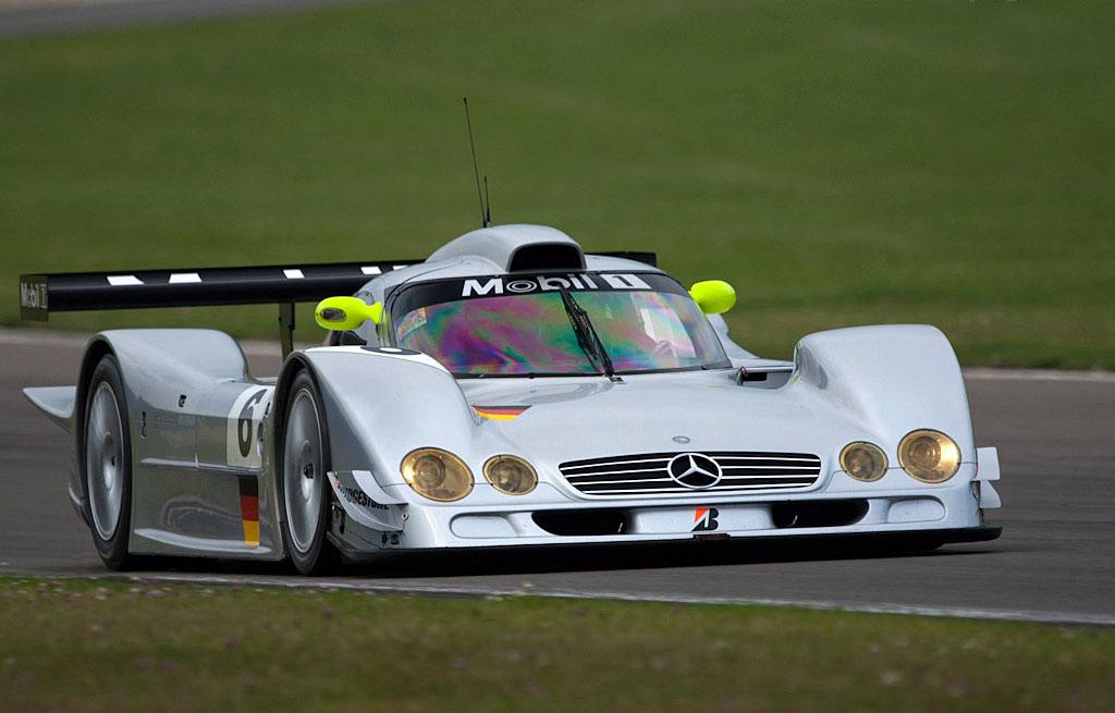 Mercedes Benz Race Car Flip