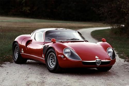 アルファロメオ ティーポ 33/2 ストラダーレ 1968